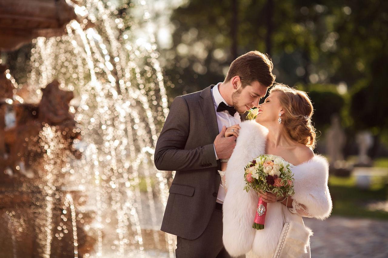 Какие фотосъемки свадьбы популярные окутал